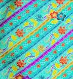 Modèle IV de batik de la Malaisie Images stock