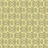 Modèle kaki abstrait des ovales illustration libre de droits