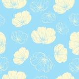 Modèle léger de fleurs Photos libres de droits