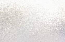 Modèle léger de miroitement texture argent?e brillante proche vers le haut Fond en verre givr? illustration de vecteur