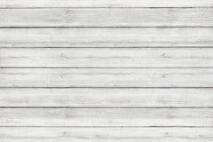 Modèle lavé par blanc en bois de mur de minerai de plancher Fond en bois de texture photographie stock libre de droits