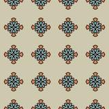 Modèle lumineux de vecteur avec des formes géométriques abstraites Photo stock