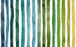 Modèle lumineux sans couture de trame avec la texture verte de rayures Grande illustration de trame illustration de vecteur