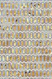 Modèle LVII - dessin géométrique abstrait illustration de vecteur