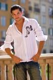 Modèle mâle beau Photos libres de droits
