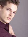 Modèle mâle professionnel Photos stock