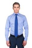 Modèle masculin avec la chemise Image libre de droits