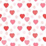Modèle mignon et moderne de vecteur de jour du ` s de Valentine Photos libres de droits