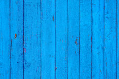 Modèle minable en bois bleu sans couture Les planches cyan de structure embarque verticalement Photographie stock