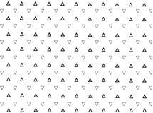 Modèle minimaliste simple géométrique avec des triangels Photos stock