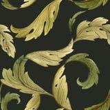 Modèle moderne d'Art Nouveau Tiffany illustration de vecteur