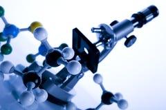 Modèle moléculaire - atome photos stock