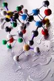 Modèle moléculaire - atome image libre de droits