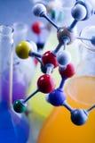 Modèle moléculaire - laboratoire photos libres de droits