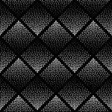 Modèle monochrome noir et blanc Photographie stock