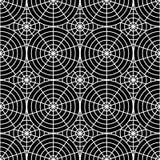 Modèle monochrome sans couture de toile d'araignée de conception illustration de vecteur
