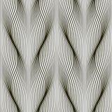Modèle monochrome sans couture des voies de effacement verticales Fond avec les lignes abstraites de vague illustration stock