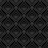 Modèle monochrome sans couture 15 Image stock