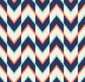 Modèle multicolore sans couture de flèche illustration stock
