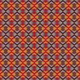 Modèle multicolore sans couture de tissu illustration de vecteur