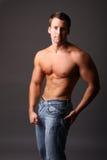 Modèle musculaire Photos stock