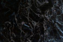 Modèle naturel de marbre noir pour le fond, noir et blanc abstrait photo libre de droits