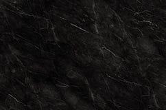 Modèle naturel de marbre noir pour le fond, noir et blanc abstrait, texture de granit Photographie stock libre de droits