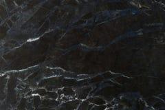 Modèle naturel de marbre noir pour le fond, marbre naturel abstrait Photographie stock libre de droits