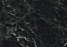 Modèle naturel de marbre noir pour le fond, noir et blanc abstrait, texture de granit images stock