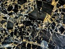 Modèle naturel de marbre noir pour le fond, noir et blanc de marbre naturel abstrait pour la conception Images stock