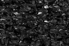 Modèle noir de fond de texture de tissu ce tissu du fabr en soie Photographie stock libre de droits