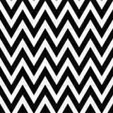 Modèle noir et blanc dans le zigzag Modèle sans couture de chevron classique Photo libre de droits