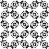 Modèle noir et blanc du résumé 11, papier peint de fond, vecteur editable, illustration illustration stock