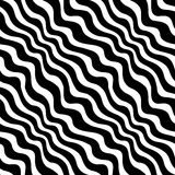 Modèle noir et blanc géométrique d'armure d'impression de conception graphique Photos libres de droits