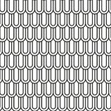 Modèle noir et blanc sans couture abstrait d'échelles Photo libre de droits