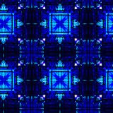 Modèle noir et bleu abstrait photos stock