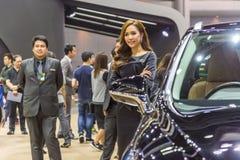 Modèle non identifié au 33nd moteur international Exp de la Thaïlande Photographie stock libre de droits