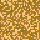 Modèle numérique sans couture à la mode de camouflage de pixel Image libre de droits