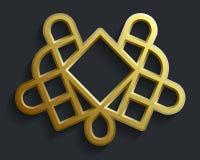 Modèle oriental islamique, élément abstrait de vecteur d'ornement Fond de musulmans de vecteur ornement est, ornement indien Photographie stock