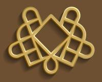 Modèle oriental islamique, élément abstrait de vecteur d'ornement Fond de musulmans de vecteur ornement est, ornement indien Photo stock