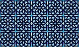Modèle oriental sans couture néoclassique Fond islamique Texture linéaire arabe Illustration de vecteur illustration de vecteur