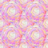 Modèle ornemental acrylique sans couture abstrait Texture sans couture dans le style d'impressionisme pour le Web, copie, envelop Image stock