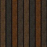 Modèle ornemental africain traditionnel Texture sans couture stylisée avec des vagues illustration stock