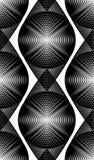 Modèle ornemental de vecteur noir et blanc, backgrou sans couture d'art Photographie stock libre de droits