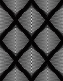 Modèle ornemental de vecteur noir et blanc, backgrou sans couture d'art Photos stock