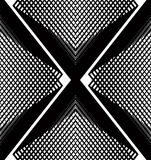 Modèle ornemental de vecteur noir et blanc, backgrou sans couture d'art Image stock