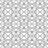 Modèle ornemental sans couture de vecteur - dessin géométrique Fond dernier cri abstrait Texture créative de grille illustration libre de droits