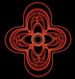 Modèle ornemental symétrique abstrait Photo libre de droits