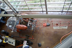 Modèle plat dans le musée de vol de frontières Image stock
