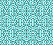 Modèle polygonal de la géométrie colorée sans couture moderne de vecteur Images libres de droits